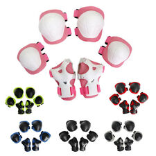 6 Pieces Kid Child Roller Skating Cycling Knee Wrist Elbow Guard Pad