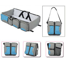 2017 3 in 1 Portable Infant Baby Bed Bassinet Diaper Changing Nappy Travel Bag