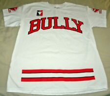 Mens Authentic Classics Parody Bulls Bully Graphic White T Shirt Size L