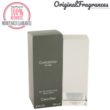 Contradiction Cologne 3.3 / 3.4 oz By CALVIN KLEIN FOR MEN 100 ML EDT SPRAY NEW
