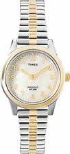Timex Womens Essex Avenue Two-Tone Stainless Steel Expansion Band Watch