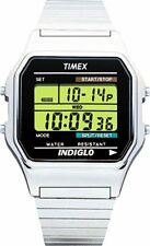 Timex Mens Classic Digital  Stainless Steel Expansion Band Watch
