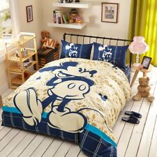 Mickey Mouse 3D Printing Bedding Set for Kids King Queen Full Twin Single Size