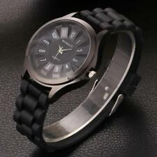 Silicone Electroplated Chrysanthemum Table Analog Quartz Wrist Watch OO55 01