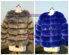 Ladies Womens Winter Warm Jacket Outwear Waistcoat Faux Fur Jacket Coat Overcoat