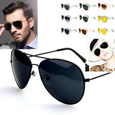 Unisex Retro Fashion Aviator Sunglasses Eyewear Shades Vintage Party Eye Glasses