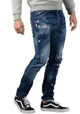 DSQUARED2 Jeans - Mens S71LB0322 Embroided Cool Guy jeans In Blue