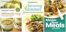 Weight Watchers Cookbooks 38 { Used on Any Program} Diet Weight Loss -You Choose
