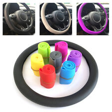 Silicone Steering Wheel Cover Skidproof Odorless Eco-Friendly Car Accessories