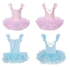 Girls Princess Ballet Dress Kids Leotards Gymnastics Ballerina Dancewear Costume