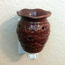 Discontinued Scentsy Roma Nightlight Plug-In Warmer - Pre-Owned