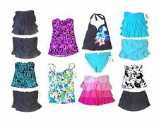 Island Escape Swimsuits Bandini Skirtini Swimsuits & Separates NWT Sz XS-XL