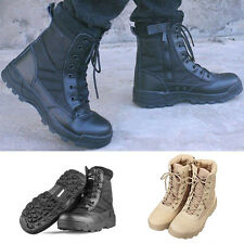 Mens Forced Entry Tactical Deployment Boot Military Combat Duty Work Boots Shoes