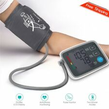 Fully Automatic Digital Upper Arm Blood Pressure Monitor Pulse Rate Testing LS