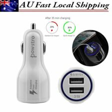 Dual USB QC3.0 Car Charger 3.1A Quick Charge 3.0 Power Adapter w/ USB Cable HOT