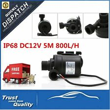 IP68 DC12V 5M 800L/H Ultra Quiet Brushless Motor Submersible Pool Water Pump MG