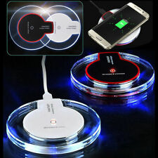 UGI Qi Wireless Charger Clear WIFI Charging Pad Mat for Samsung Note8 iPhone X 8