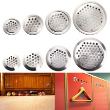 20pcs Stainless Steel Mesh Wardrobe Cabinet Air Vent Louver Cover Mesh Holes