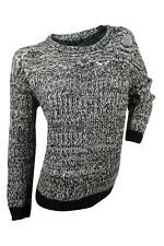 Romeo & Juliet Couture $118 NWT Black Ivory Marled Sweater Women