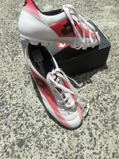 Mens Soccer Boots Lotto brand white red and black soccer boots