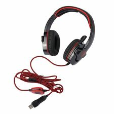 USB Wired Surround Sound Effect Headphone Gaming Headset W/ Mic For SADES SA901