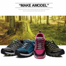 Waterproof Mountaineering Shoes Lace-up Hiking Boots Women Sports Shoes WW