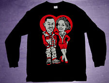 New 11 air bred Long Sleeve Martin shirt  jordan xi cajmear low tv show M L 2XL