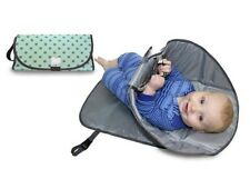 Clean Hands Changing Pad Portable Baby 3in1 Cover Mat Folding Diaper Bag Kit