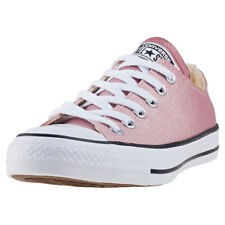 Converse Chuck Taylor All Star Ox Womens Trainers Beige Pink New Shoes