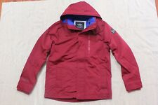 NWT Men Hollister by Abercrombie  All-Weather Fleece-Lined Jacket size M, L red