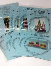 BUY 3 Get 1 FREE All Seasons Decorative Painting Tole Pattern Instruction Packet