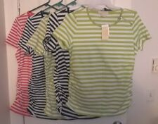 NEW LADIES STRIPED MICHAEL KORS TOP PICK SIZE/COLOR 1X 2X OR 3X MSRP 59.50