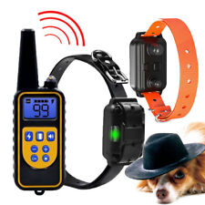 Rechargeable Pet Dog Training Shock Collar Waterproof Electric Remote Control