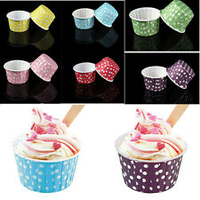 Cupcake-Cases Paper Cake Cup Liners Wrapper Muffin Mug Baking Wedding Party、New