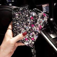 Luxury 3D Crystal Diamond Rhinestone Bling Jewelled Case Cover For iPhone 7 Plus