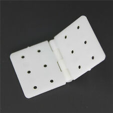 10pcs Nylon Plane Hinge for RC Airplane RC Airplane Plane Parts Replacement、New