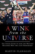A Wink from the Universe by Martin Flanagan Paperback Book Free Shipping!
