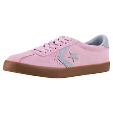 Converse Breakpoint Ox Kids Trainers Pink Grey New Shoes