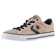 Converse Star Player Ox Mens Trainers Khaki Black New Shoes