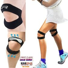 Dual Knee Support Strap Patella Knee Strap Protective Mobility Pain Relief LQ