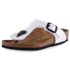Birkenstock Gizeh Kids Sandals White New Shoes