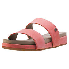 Hush Puppies Gallia Chrysta Womens Sandals Coral New Shoes