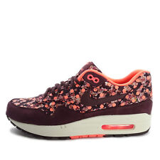 Nike WMNS Air Max 1 LIB QS [540855-600] NSW Running Liberty Belmont Burgundy