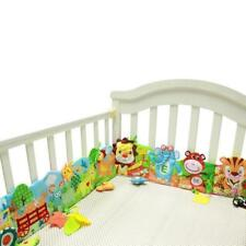 Baby Bed Bumper Crib Mobile Cloth Book Around Soft Plush Educational Cot Animal