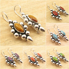 925 Silver Plated Collectible Earrings, Vintage Style Handmade Jewelry