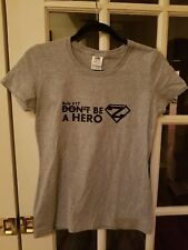 Rule #17 DON'T BE A HERO T-Shirt TEE $30 MSRP Concealed Carry Gray Grey NWT!