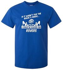 BRISTOL ROVERS FANS THEMED BOOZE AND BIRDS T-SHIRT