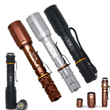 20000LM Zoomable T6 LED Tactical 5Mode Focus Flashlight Torch Lamp Focus Hiking