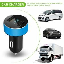 Car Charger 5V 3.1A Quick Charge Dual USB Port Cigarette Lighter Adapter NEWEST