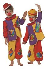 Clown Costume Baby Costumes Boy Carnival Top Trousers Multicolour